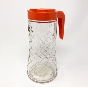 Vintage Tang Pitcher 60's Anchor Hocking